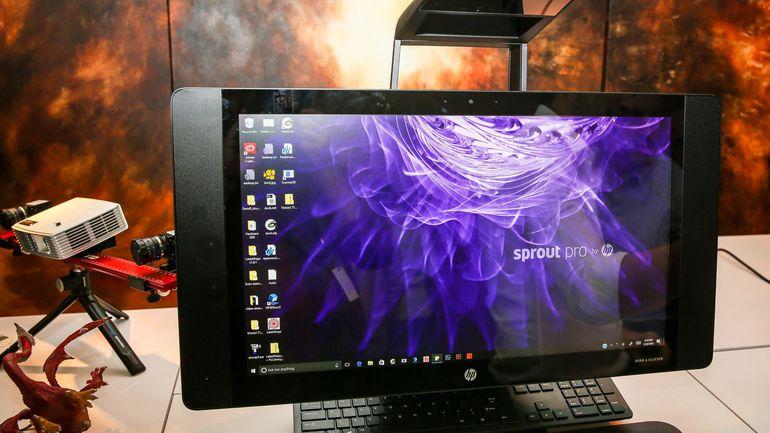 HP en el CES 2017: Sprout Pro el primer escáner de objetos 3D