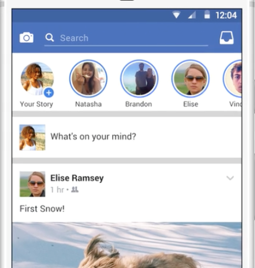 Facebook tendrá su propia versión de Stories