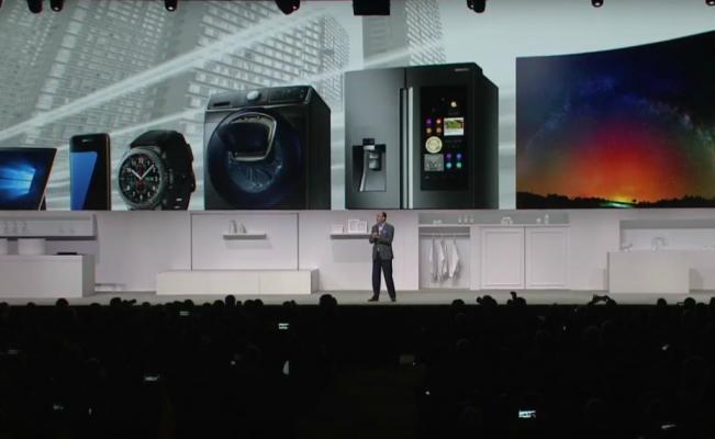 Samsung lanzó un nuevo sistema de lavado 4 en 2 en el CES 2017