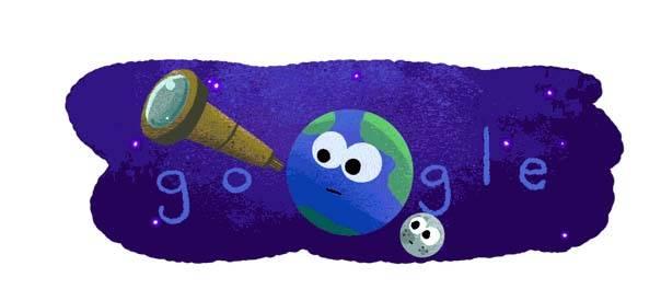 Doodle de Google es en celebración del descubrimiento de 7 exoplanetas