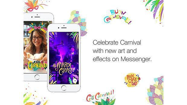 Facebook Messenger festeja Carnaval de Río con actualización