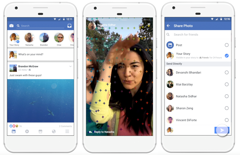 ¿Ya sabes cómo funciona Facebook Stories?