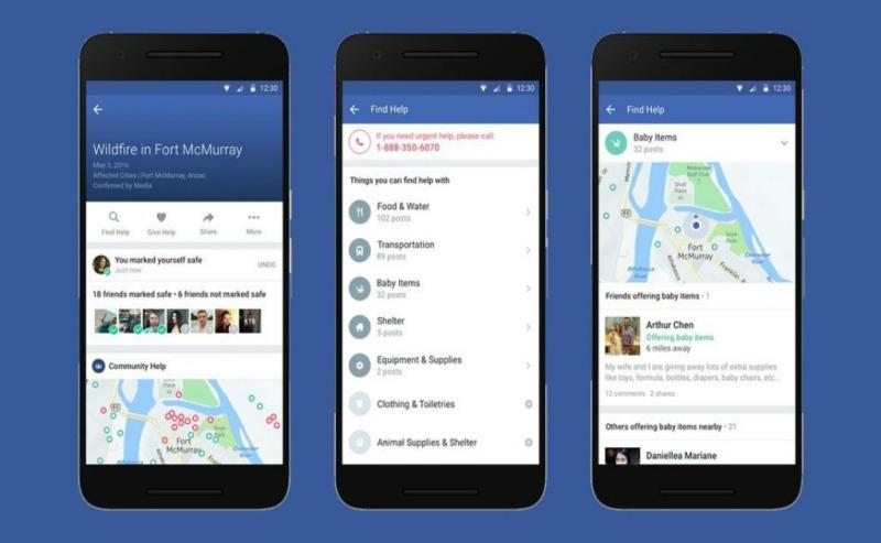 «Community Help»: la nueva función de Facebook