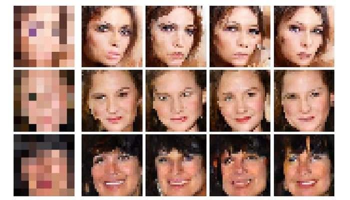 Inteligencia artificial de Google eliminará fotos pixeladas