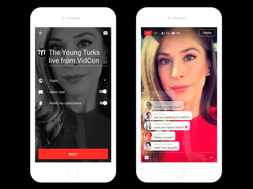 YouTube ahora con 'streaming' móvil