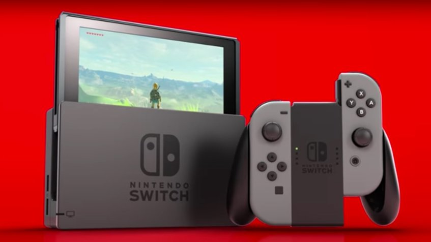 Nintendo Switch salió al mercado