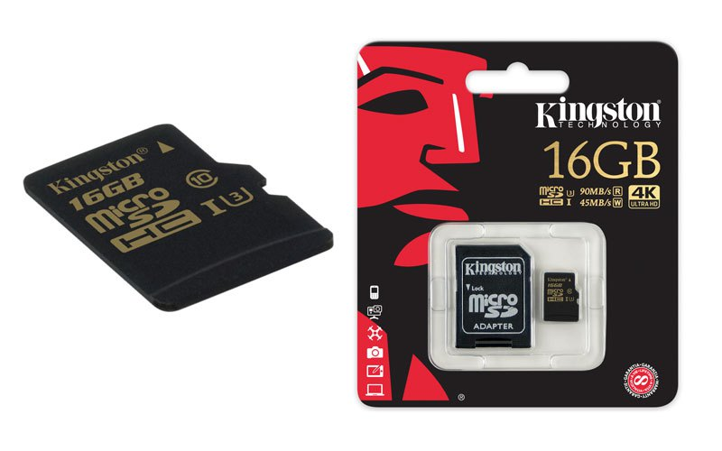 Kingston Technology presenta una nueva tarjeta flash Clase 3 microSD que se une a la serie Gold
