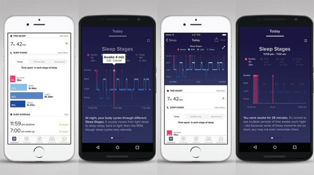 Fitbit agrega Sleep Stages y Sleep Insights: funciones de sueño y 'coaching'