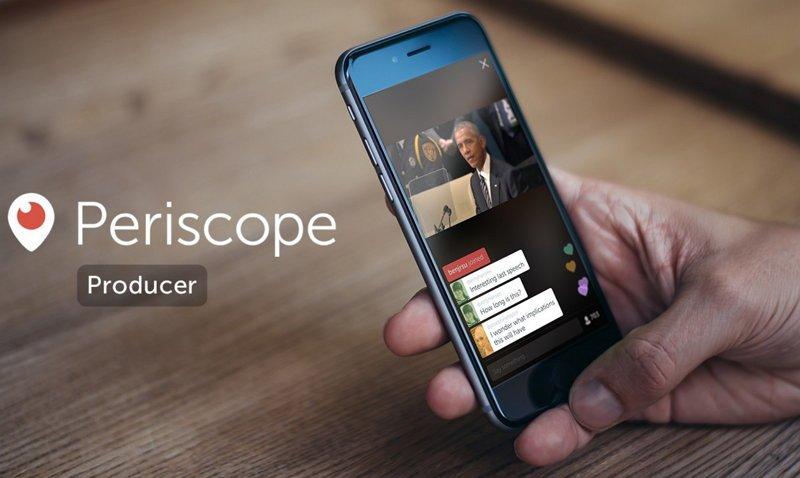 Lanzamiento Periscope Producer API
