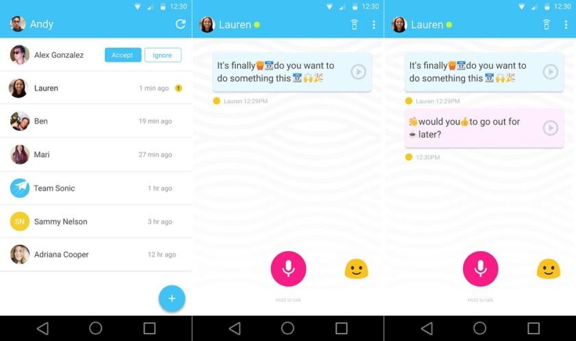 Supersonic Fun Voice Messenger: la app de Google que convierte la voz en emojis