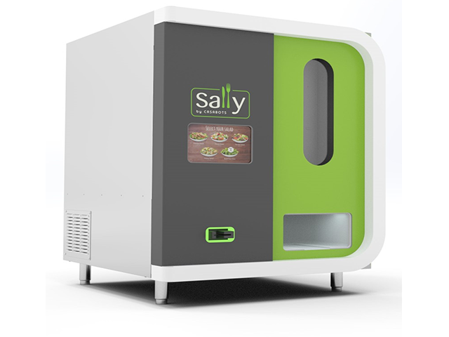 Sally: el robot que hace ensaladas perfectas