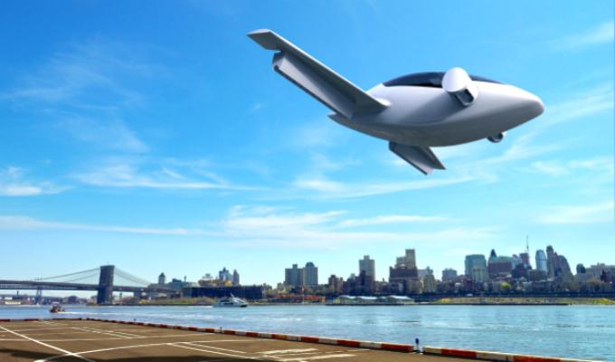 Taxi volador realizó su primer vuelo