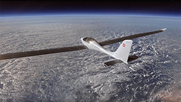 Avión solar realiza primer vuelo hacia la estratosfera