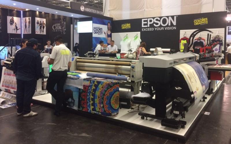 Epson busca consolidarse en la industria textil con presencia en Intermoda 2017