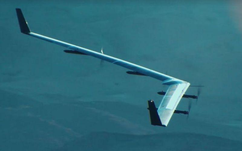 Aquila: el dron de Facebook completa segundo vuelo