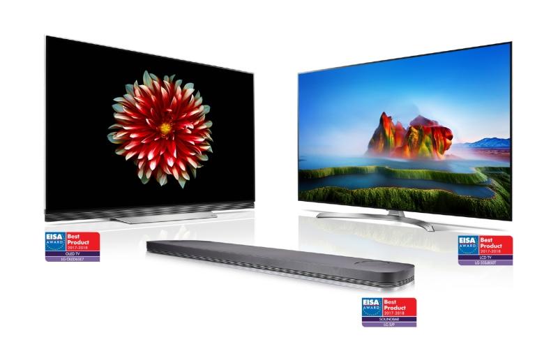 LG OLED TV se lleva los más altos honores  en los premios EISA