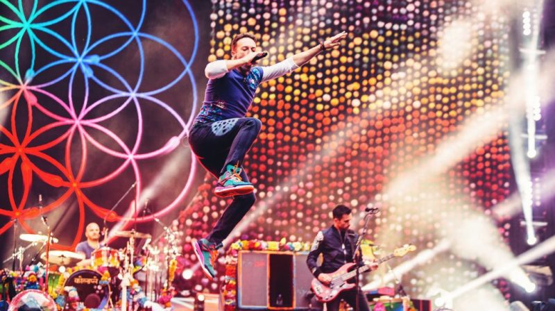 Samsung y Live Nation Team-Up transmiten show de Coldplay desde Chicago en RV