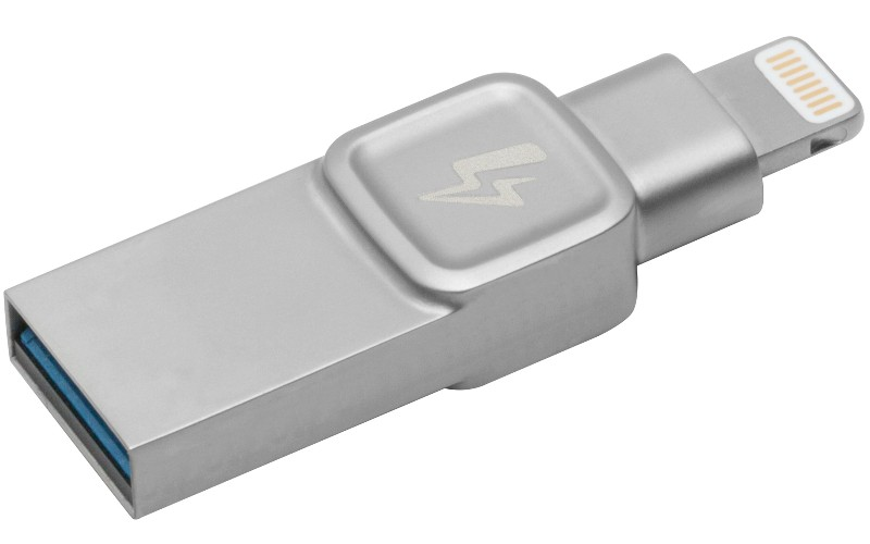 Más espacio con el nuevo DataTraveler Bolt Duo de Kingston para Apple iPhone e iPad