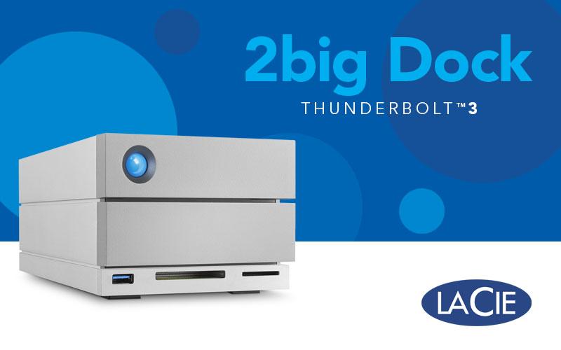 LaCie 2big Dock Thunderbolt 3 cubre la brecha del puerto y ofrece una gran capacidad