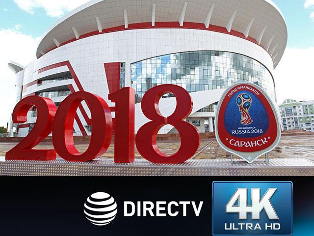 DIRECTV revoluciona el entretenimiento: transmitirá la Copa Mundial de la Fifa™ en 4k ultra hd en Latinoamérica