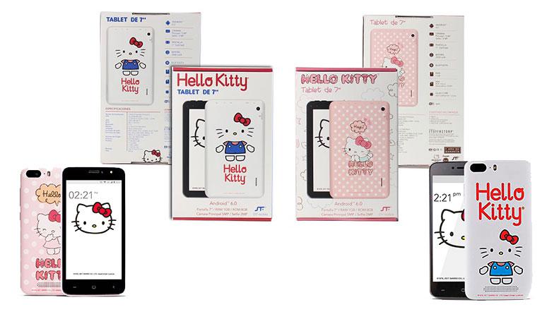 Blanca Navidad con Hello Kitty® y STF mobile