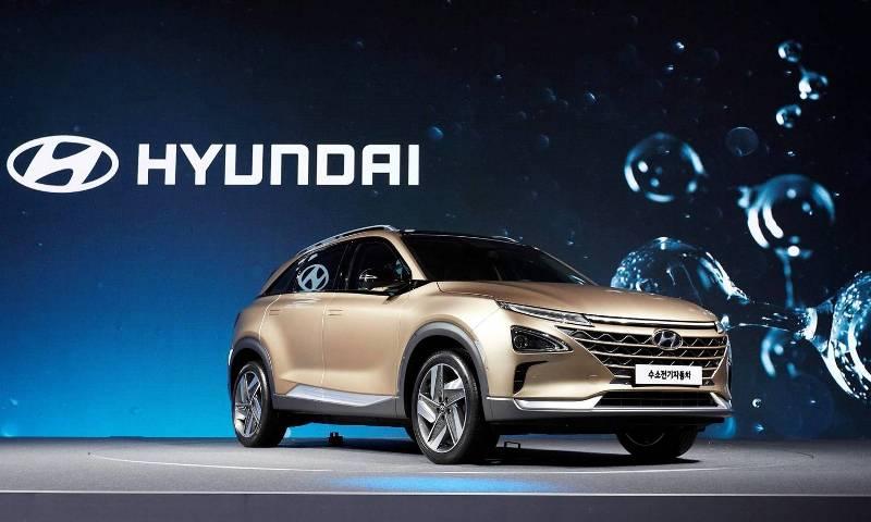 Hyundai apuesta por el hidrógeno en su nuevo automóvil