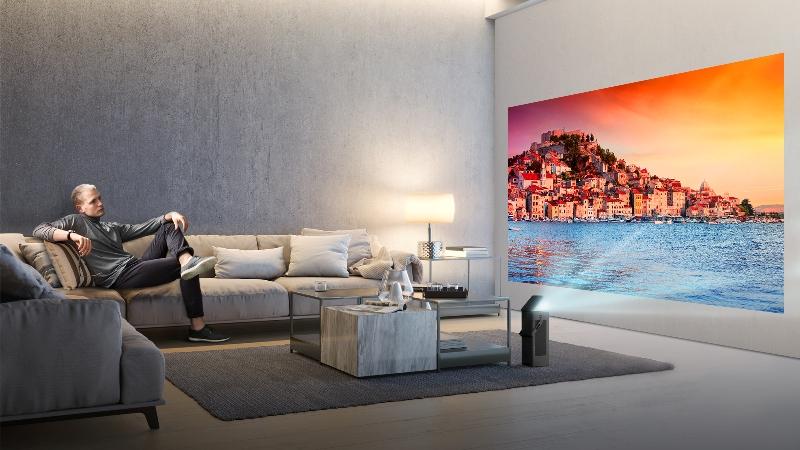 El proyector 4k UHD de LG  se presentará en el CES 2018