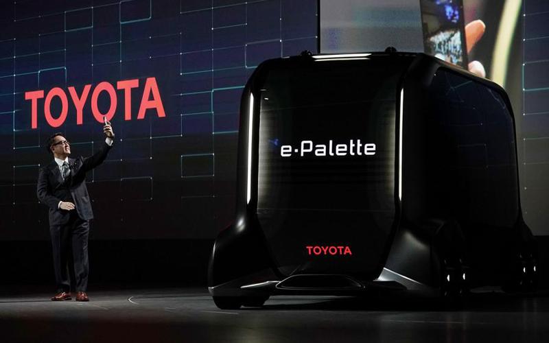 Toyota busca revolucionar la movilidad de personas y mercancías en CES 2018