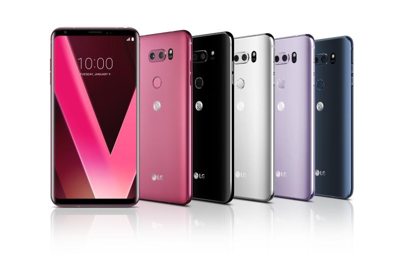 El color Raspberry Rose del LG V30 es un éxito en su lanzamiento en Corea