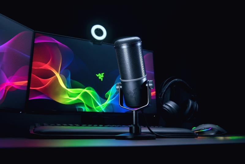 Razer presenta su nuevo micrófono profesional para streaming
