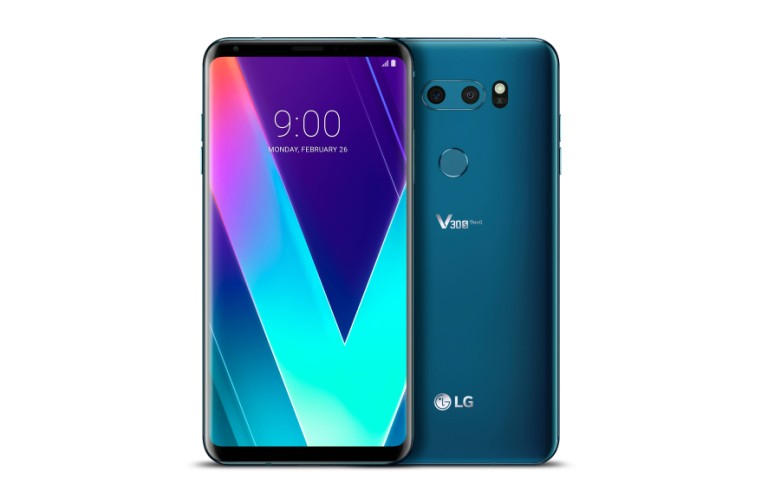 El LG V30s Thinq con Inteligencia Artificial integrada debuta en el MWC 2018