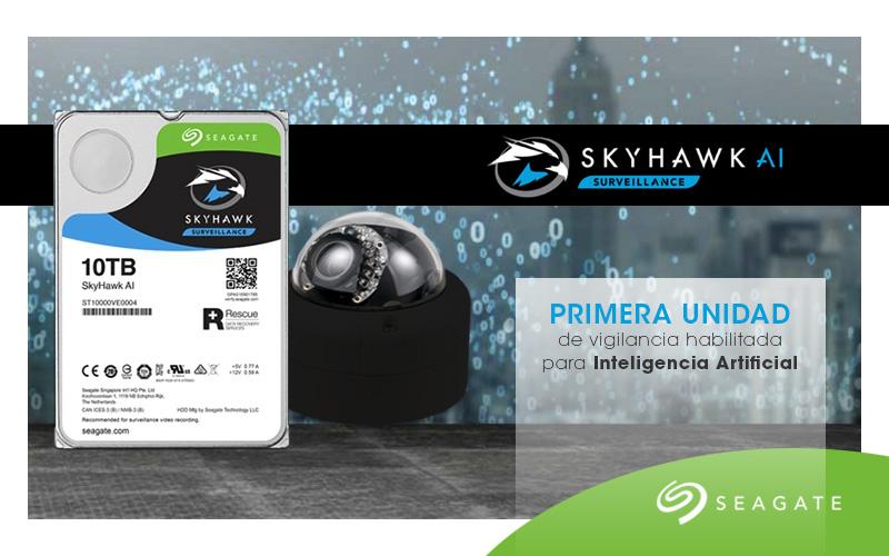 Seagate lanza la primera unidad de vigilancia habilitada para Inteligencia Artificial