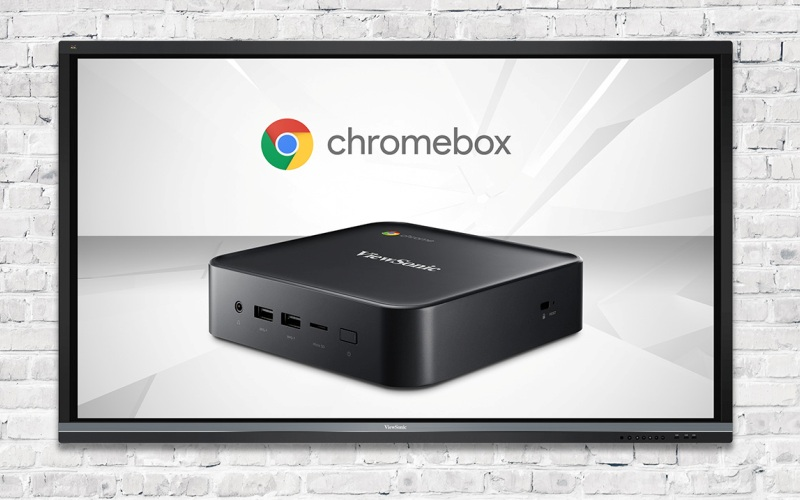 ViewSonic presenta Chromebox para el sector educativo, de señalización y empresarial