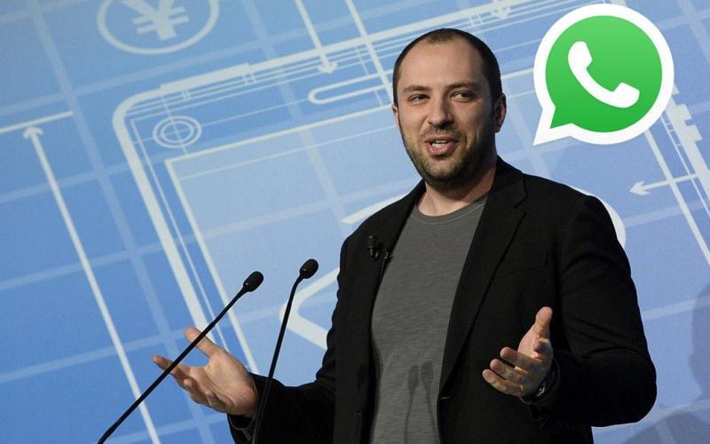 Creador de WhatsApp renunció a Facebook por desacuerdos de privacidad