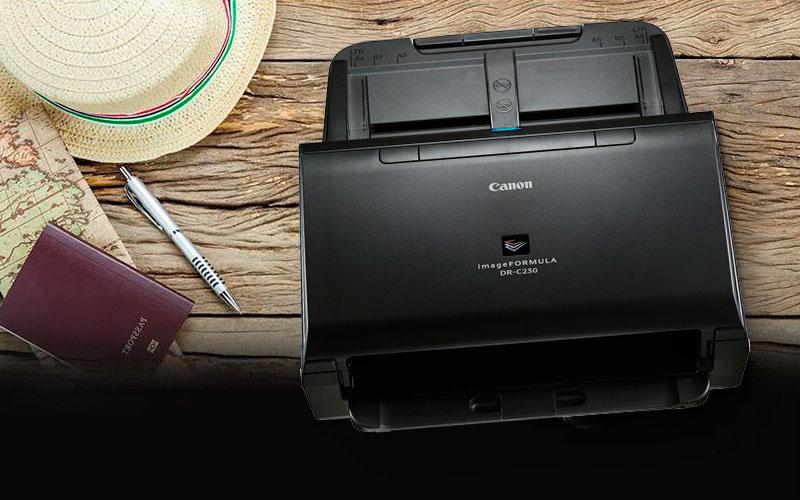Nuevo escáner de Canon de la mano con CMB