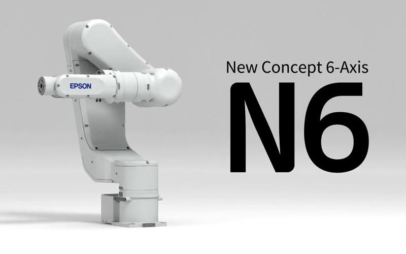 Epson lanza nueva versión de su robot de 6 ejes y un sensor de fuerza con diseño hueco
