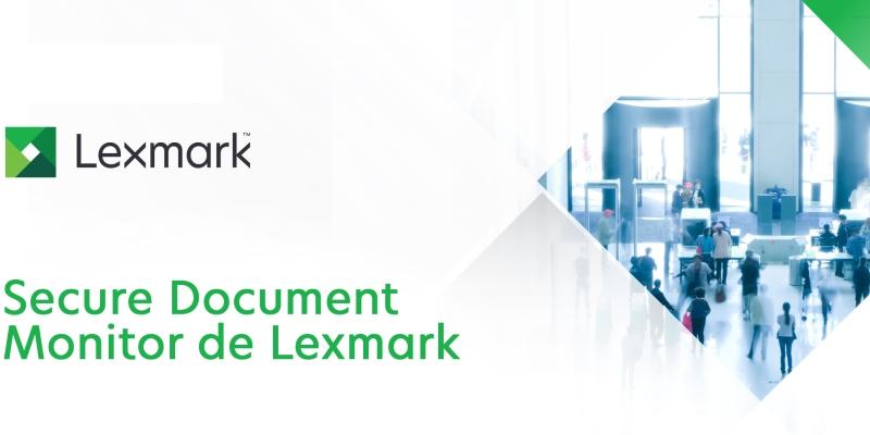 Lexmark anuncia una solución que brinda protección contra amenazas de seguridad interna