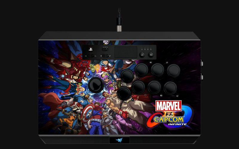 Razer anuncia Marvel vs. Capcom®: Infinite Arcade Stick para Playstation™ 4