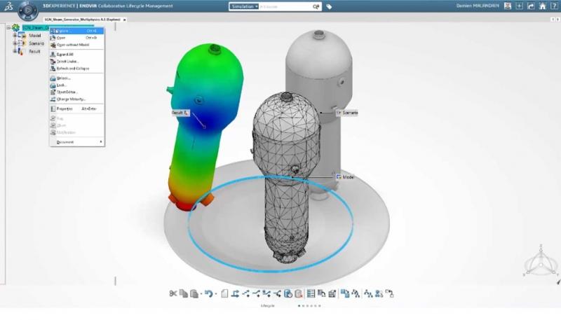La plataforma 3DExperience de Dassault Systèmes será utilizada en la transformación de la ingeniería nuclear de EDF Energy