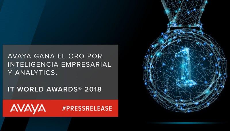 Avaya Gana el Oro por sus Soluciones de Inteligencia Empresarial
