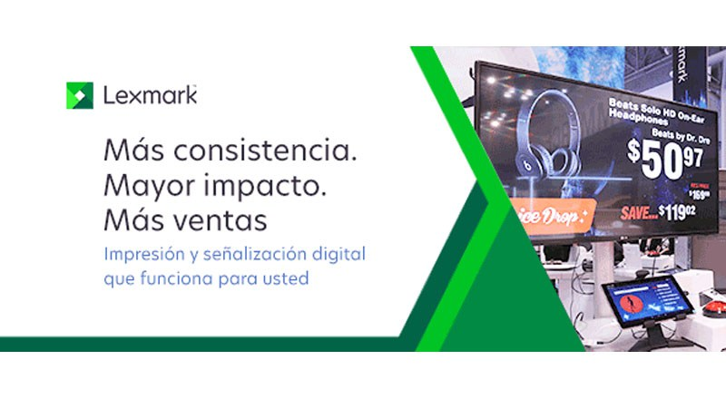 Lexmark lanza una solución mejorada de Print and Digital Signage para Retail