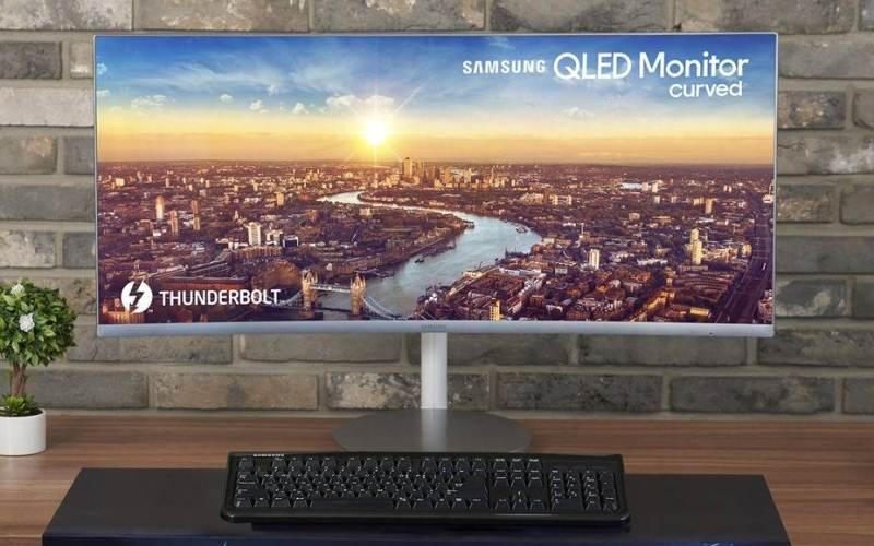 Samsung Electronics lanza el primer monitor curvo QLED Thunderbolt™ 3 del mundo en IFA 2018