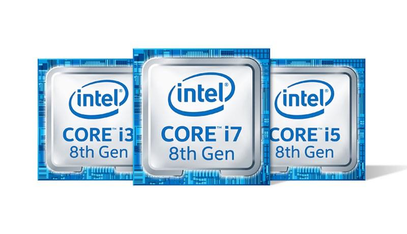 Nuevos procesadores Intel Core de 8ª Generación