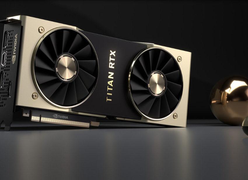 Nvidia presentó Titan RTX GPU