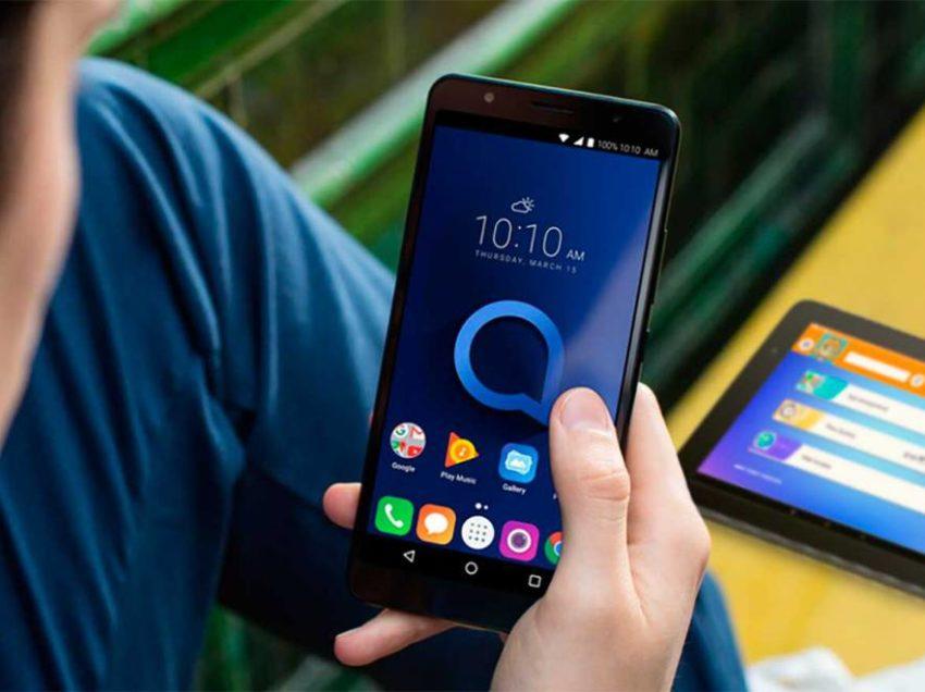 Alcatel presenta en CES 2019 sus nuevos equipos móviles de bajo costo