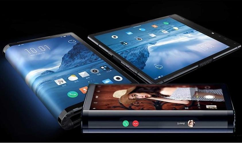 Royole llega a CES con FlexPai, el primer teléfono con pantalla flexible
