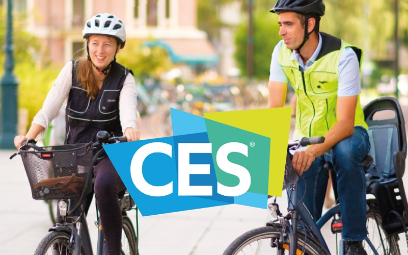 Helite presenta B´safe, chaleco inteligente para ciclistas