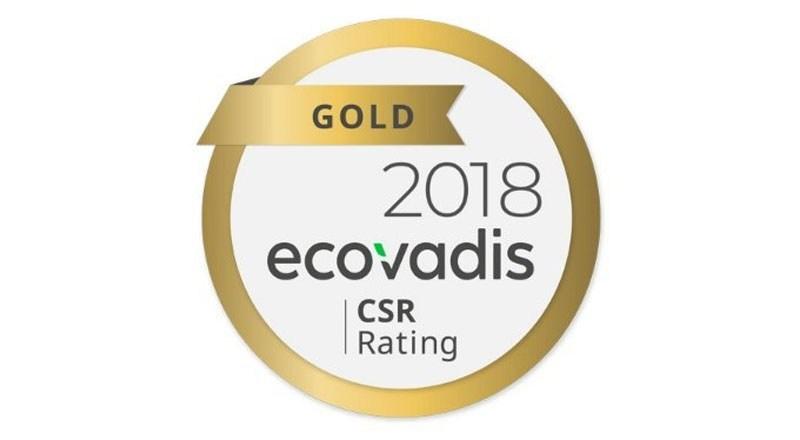 Epson recibe el premio Gold Rating de EcoVadis por sus trabajos de sustentabilidad
