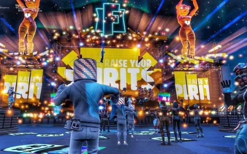 Más de 10 millones de jugadores en concierto virtual de Fortnite con DJ Marshmello