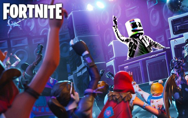 Concierto virtual en Fortnite atrajo estafadores